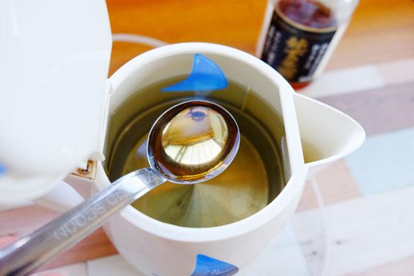 お酢と・クエン酸を使った電気ケトルのお掃除方法(石灰分の除去)1