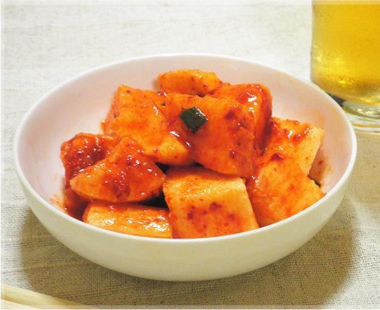 山芋キムチはダイエットや健康に良い♪