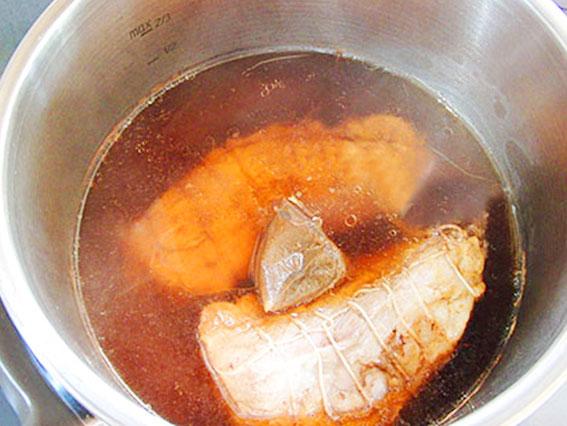 【調理時間20分】自家製焼き豚『チャーシュー』簡単手作り方レシピ6