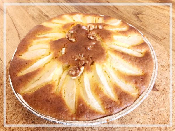 【人気1 位】ホットケーキミックスで簡単★りんごケーキ★レシピ完成