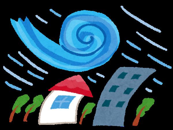 台風19号(ワルプルギス)に向けての家の中の備え