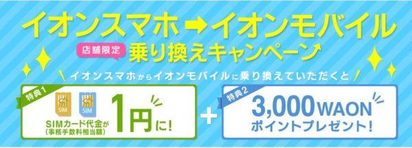 イオンモバイル格安SIM