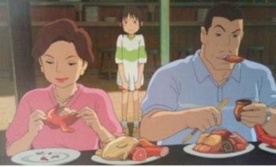アニメ【千と千尋の神隠し再現レシピ】お母さんが食べてた鳥の丸焼き