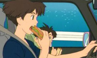 アニメ【崖の上のポニョ再現レシピ】サンドイッチ