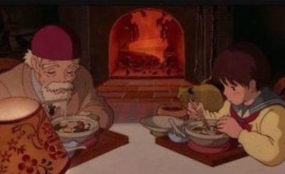 アニメ【耳をすませばの再現レシピ】鍋焼きうどん