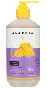 Alaffia, Kids Shampoo & Body Wash(全身ボディソープ)